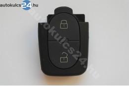 Audi 2 carcasă cheie cu butoane ovală partea inferioară