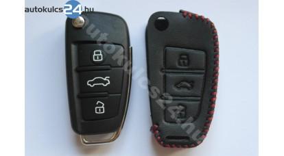 Audi 3 carcasă cheie briceag cu butoane toc din piele