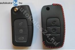 Ford 3 carcasă cheie briceag cu butoane toc din piele