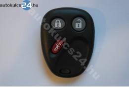 Chevrolet 3 carcasă telecomandă cu butoane
