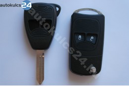 Chrysler 2 adaptor cheie briceag cu butoane #2