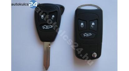 Chrysler 3 adaptor cheie briceag cu butoane