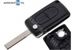 Citroen 2 carcasă cheie briceag cu butoane HU83