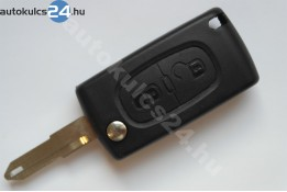 Citroen 2 carcasă cheie briceag cu butoane NE72 #2