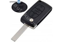 Citroen 3 carcasă cheie briceag cu butoane HU83 #2