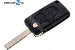 Citroen 4 carcasă cheie briceag cu butoane HU83