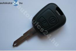 Peugeot 2 carcasă cheie cu butoane NE72