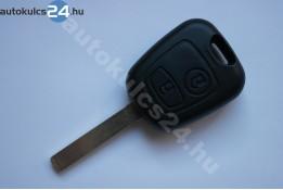 Peugeot 2 carcasă cheie cu butoane VA2