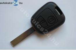 Citroen 2 carcasă cheie cu butoane HU83
