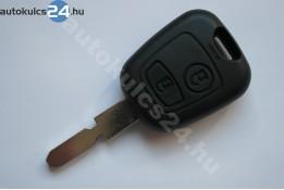 Peugeot 2 carcasă cheie cu butoane NE78