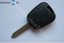 Citroen 2 carcasă cheie cu butoane SX9