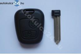 Peugeot 2 carcasă cheie cu butoane SX9