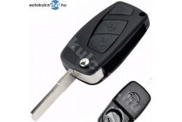 Fiat 2 carcasă cheie briceag cu butoane