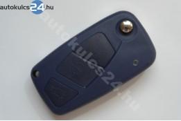 Lancia 3 carcasă cheie briceag cu butoane albastru baterie laterală