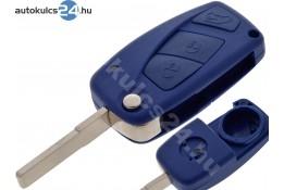 Fiat 3 carcasă cheie briceag cu butoane albastru