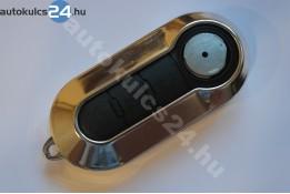 Fiat 3 carcasă cheie briceag cu butoane argint