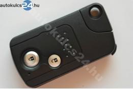 Honda 2 carcasă cheie cu butoane cu cheie de siguranță