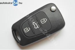 Hyundai 3 carcasă cheie briceag cu butoane