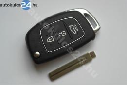 Hyundai 3 carcasă cheie briceag cu butoane #2