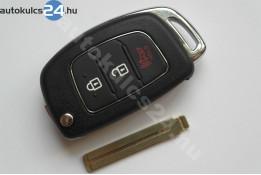 Hyundai 2+1 carcasă cheie briceag cu butoane