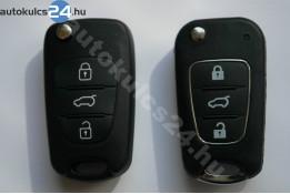 Hyundai 3 carcasă cheie briceag cu butoane cadru metalic