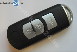 Mazda 3 cheie cu butoane insertabilă