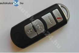 Mazda 3+1 cheie cu butoane insertabilă