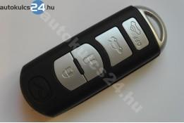 Mazda 4 cheie cu butoane insertabilă