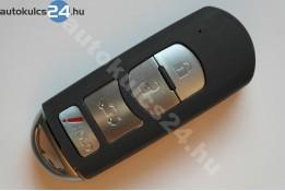 Mazda 3+1 cheie cu butoane insertabilă #2