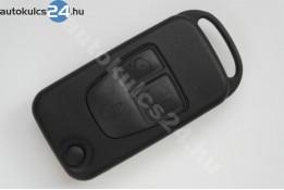 Mercedes 3 carcasă cheie briceag cu butoane