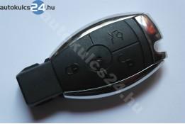 Mercedes 3 carcasă cheie cu butoane cadru metalic