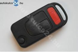 Mercedes 2 carcasă cheie briceag cu butoane panic buton