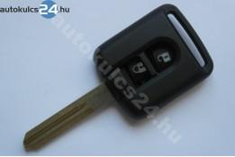 Nissan 2 carcasă cheie cu butoane #3