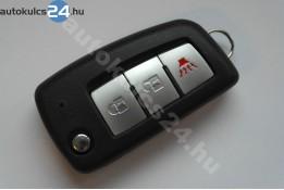 Nissan 2+1 carcasă cheie briceag cu butoane
