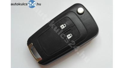 Chevrolet kétcarcasă cheie briceag cu butoane