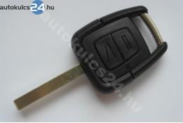 Opel 2 carcasă cheie cu butoane HU100