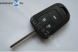 Opel 3 carcasă cheie cu butoane