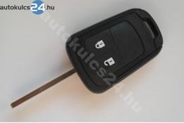 Opel 2 carcasă cheie cu butoane