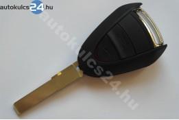 Porsche 2 carcasă cheie cu butoane