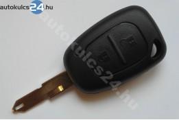 Renault 2 carcasă cheie cu butoane #2