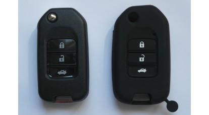 Honda 3 toc din silicion cu butoane #2