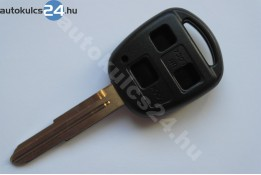 Toyota 3 carcasă cheie cu butoane TOY41