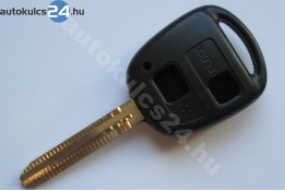 Toyota 2 carcasă cheie cu butoane TOY43