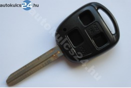 Toyota 3 carcasă cheie cu butoane TOY43 #2