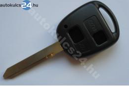 Toyota 2 carcasă cheie cu butoane TOY47 #2