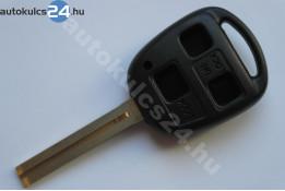 Lexus 3 carcasă cheie cu butoane TOY40 lung