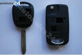 Toyota 2 adaptor cheie briceag cu butoane #6