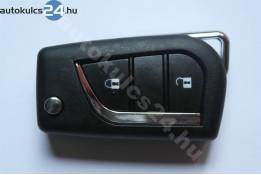 Toyota 2 carcasă cheie briceag cu butoane #2