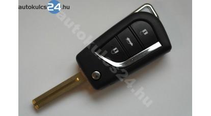 Toyota 2 carcasă cheie briceag cu butoanez #3