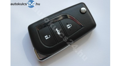 Toyota 3 carcasă cheie briceag cu butoane VA2